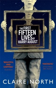 The cover for The First Fifteen Lives of Harry August by Claire North, a Richard and Judy Book Club 2014 pick