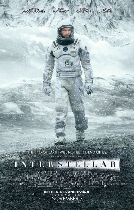 Interstellar movie, reviewed by Rob Boffard, author of scifi thriller Tracer