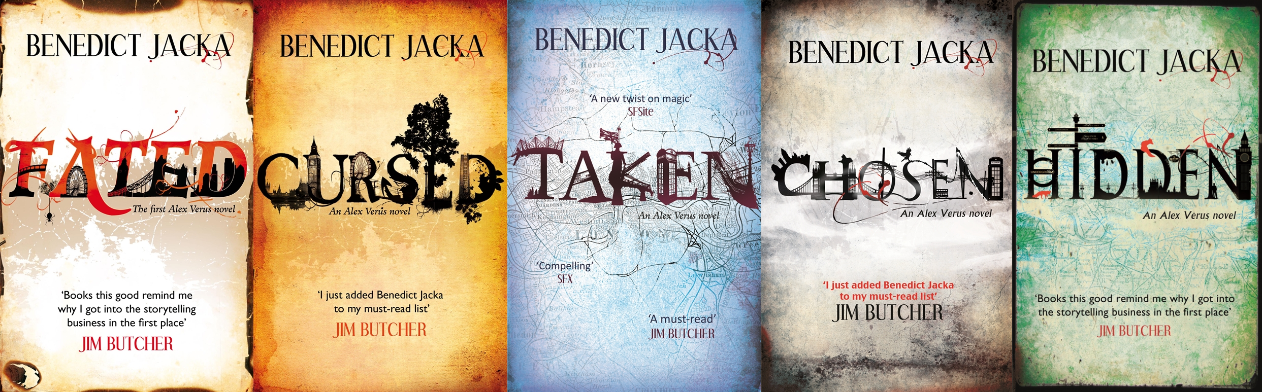 London-based urban fantasy at its best – the Alex Verus series by Benedict Jacka