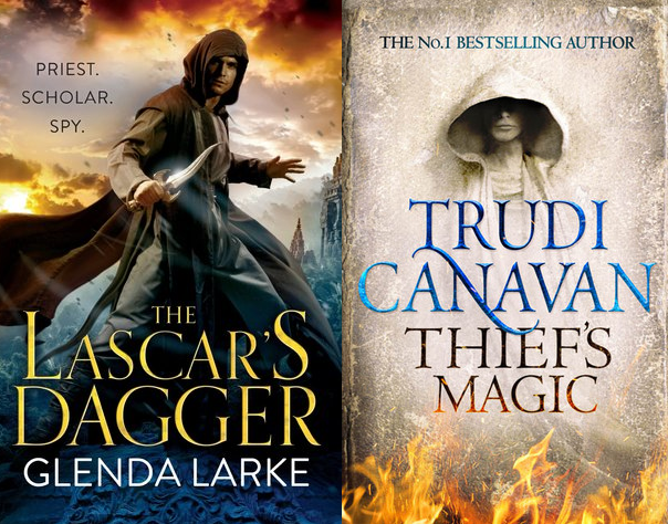THE LASCAR'S DAGGER and THIEF'S MAGIC