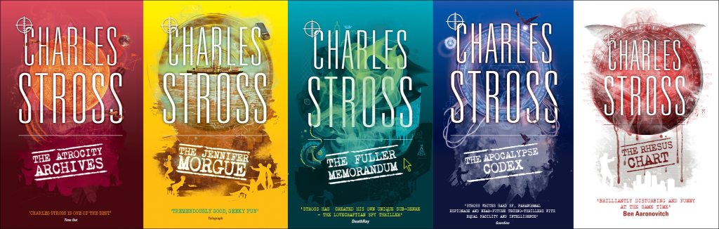 The Laundry Files by Charles Stross