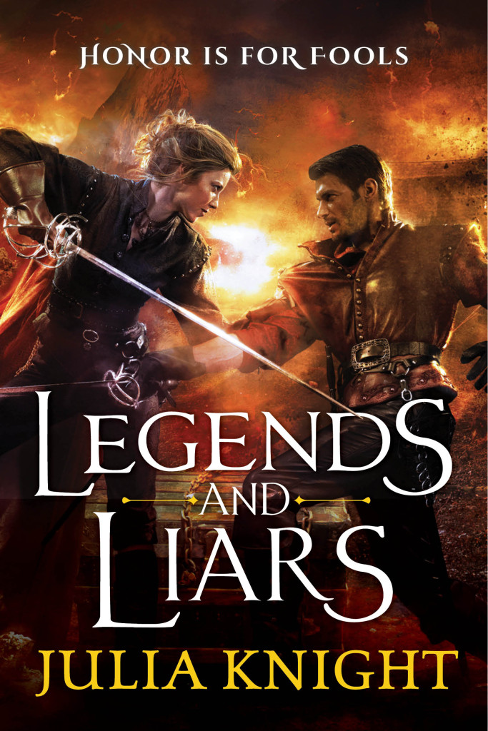 Legends And Liars by Julia Knight