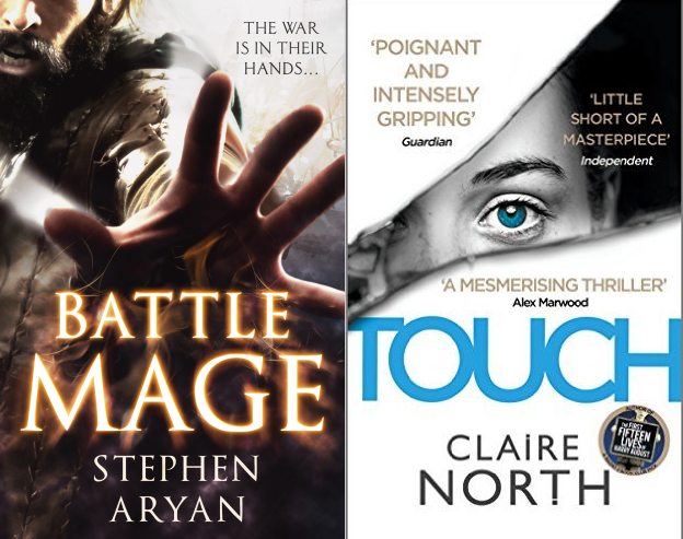 september events - claire north and stephen aryan