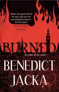 BURNED: Alex Verus book 7
