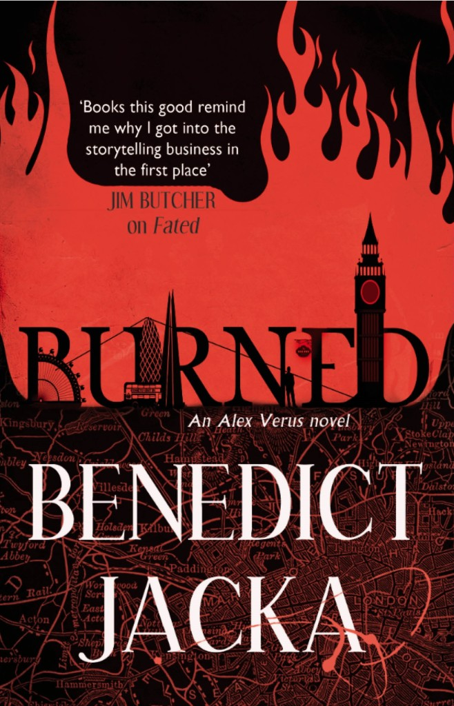 BURNED: Alex Verus book 7
