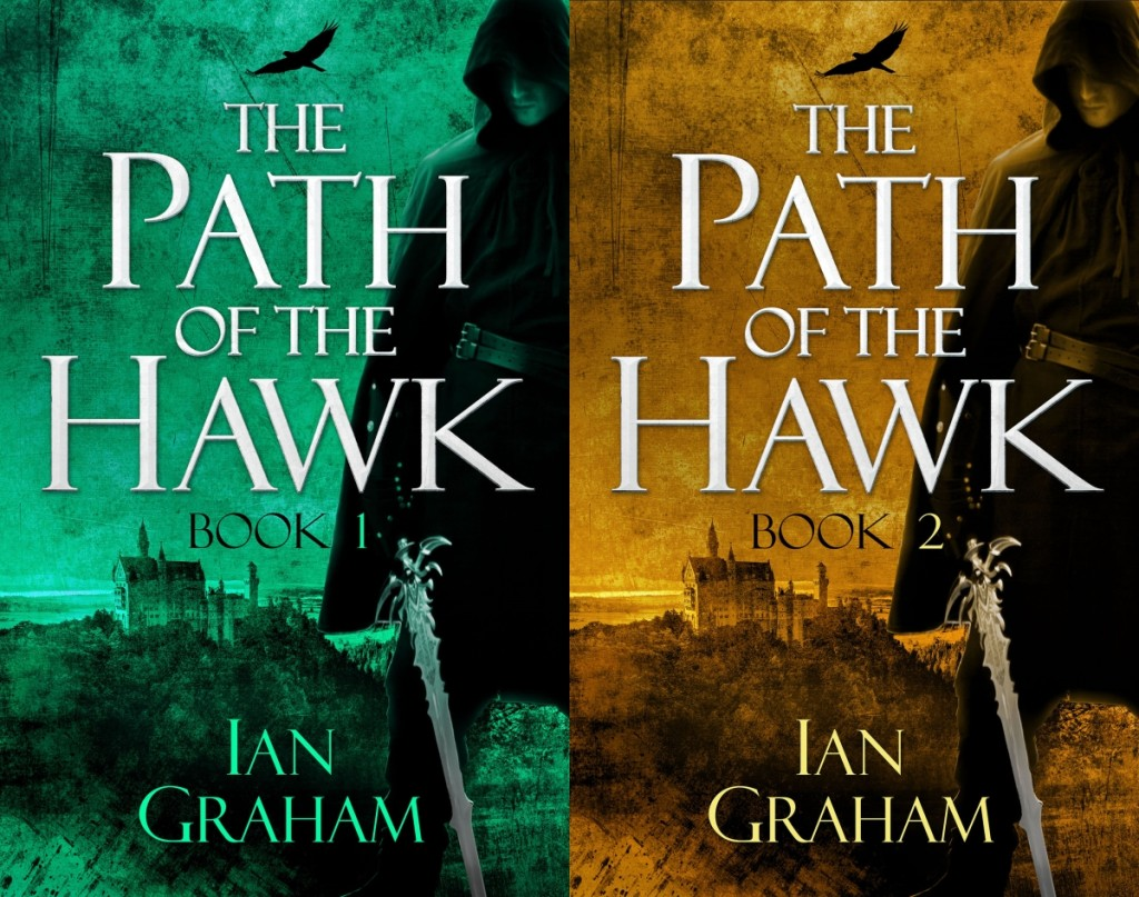 The Path of the Hawk Book One and Book Two: digital instalments released Jan and Feb 2016