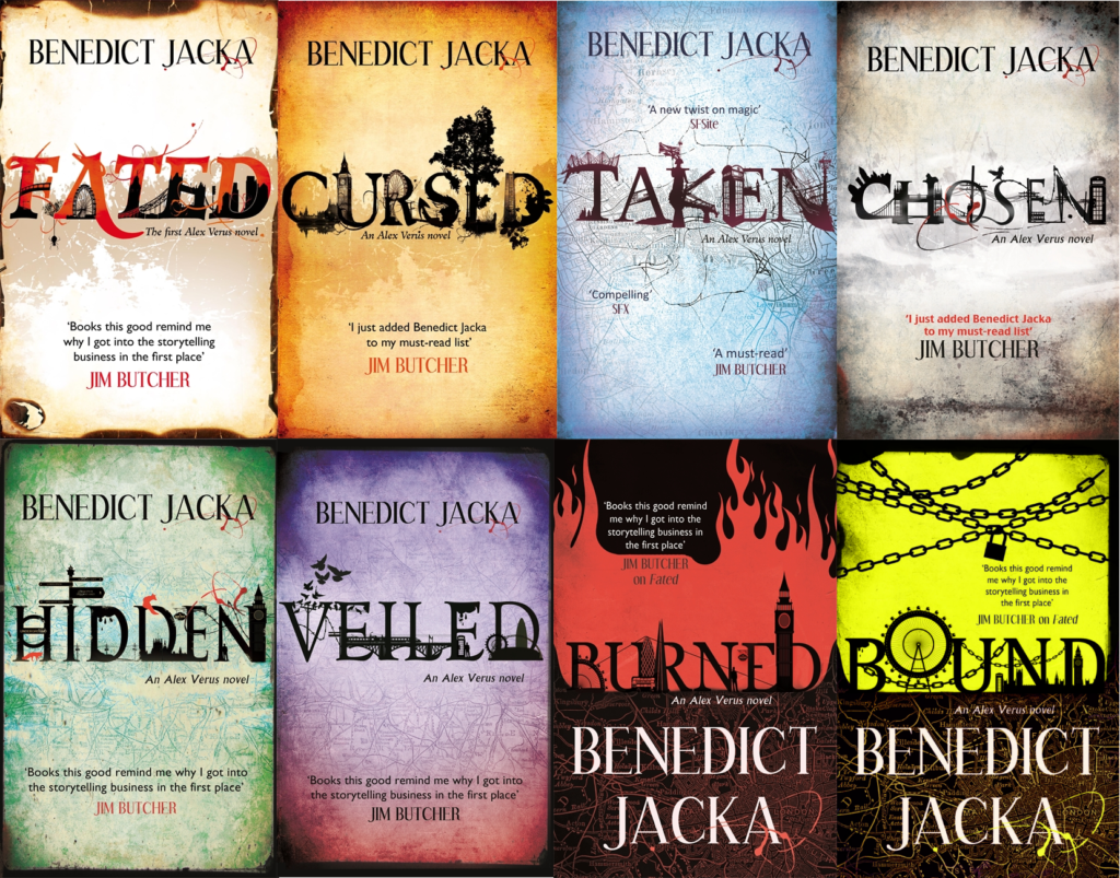 Urban Fantasy at its best - the Alex Verus series by Benedict Jacka