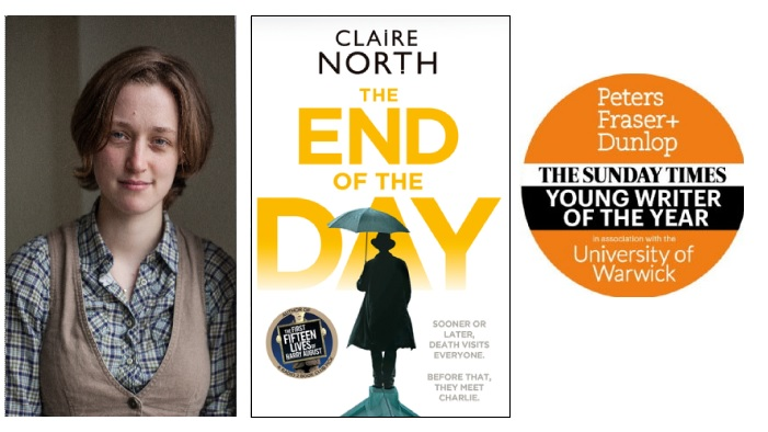 Claire North Sunday Times Young Writer of the Year award