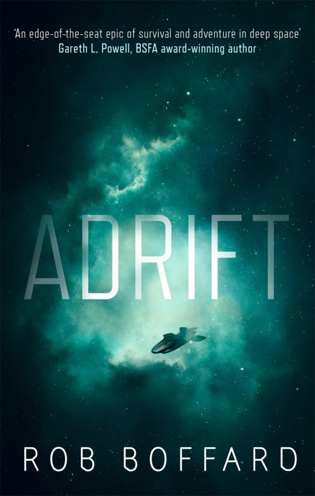 Adrift - a science fiction adventure novel by Rob Boffard