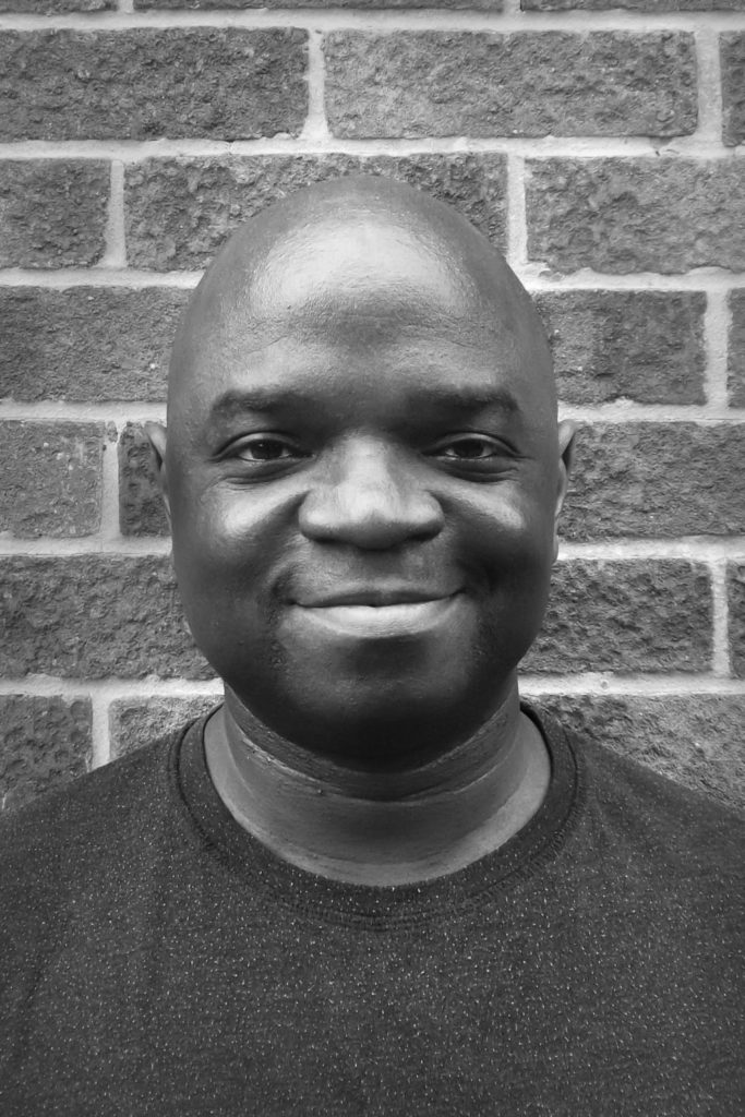 Tade Thompson, author of ROSEWATER (photo credit David Thompson)