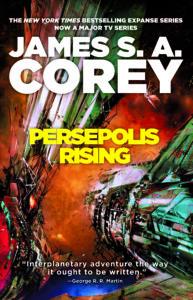 PERSEPOLIS RISING cover