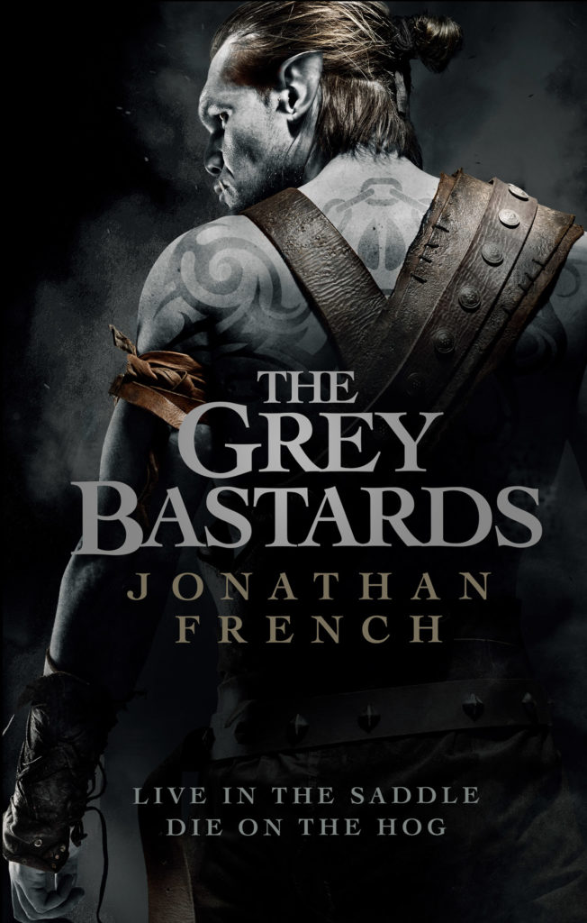 The Grey Bastards by Jonathan French book cover
