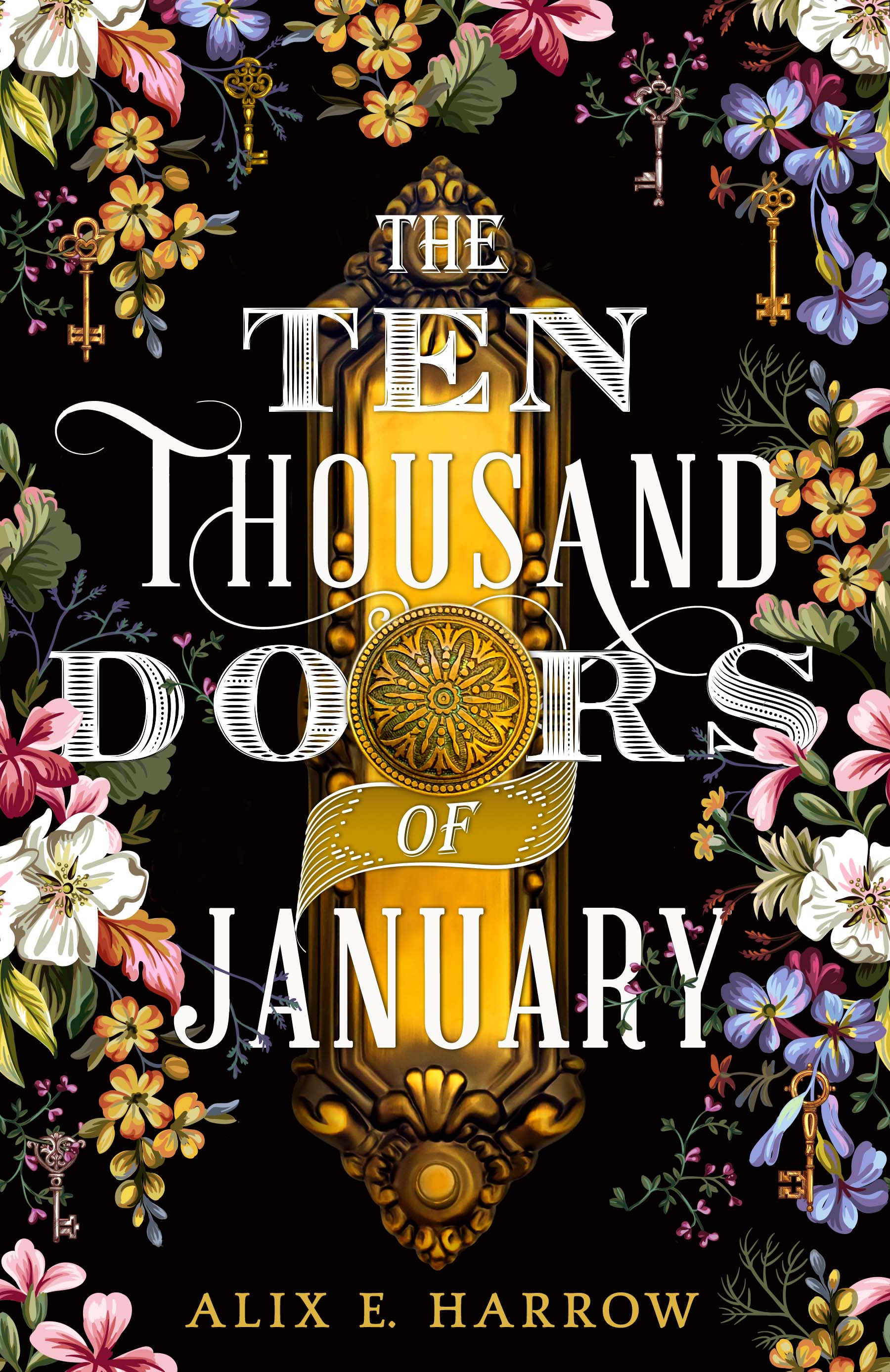 Check out the cover for THE TEN THOUSAND DOORS OF JANUARY by Alix ...
