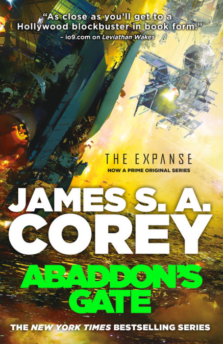 Book 3 of the Expanse by James S. A. Corey