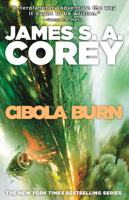 Book 4 of the Expanse by James S. A. Corey