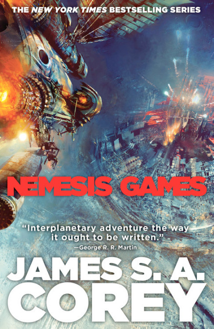 Book 5 of the Expanse by James S. A. Corey