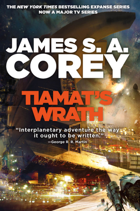 Book 8 of the Expanse by James S. A. Corey