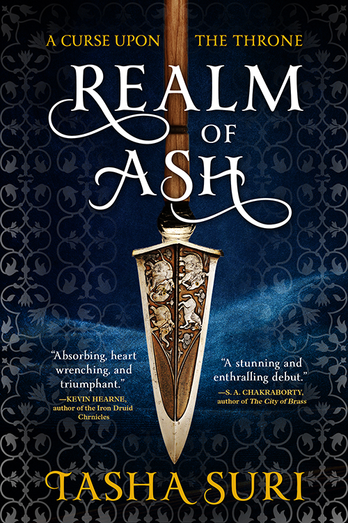 Cover Launch: REALM OF ASH by Tasha Suri