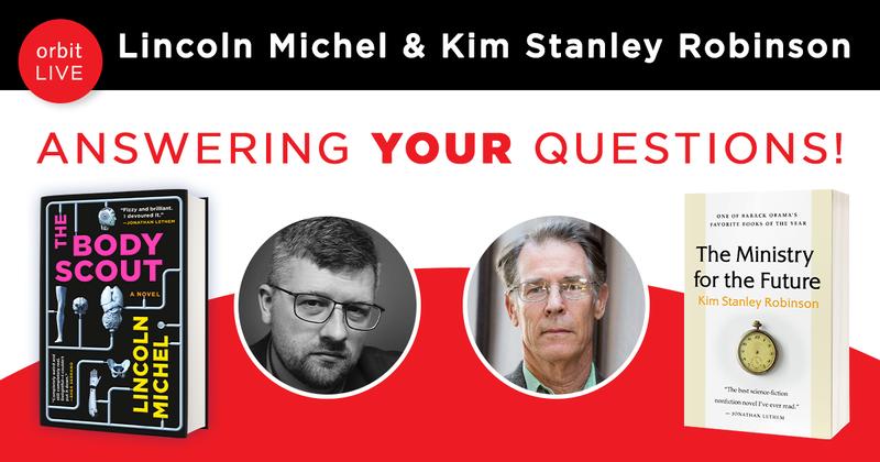 Lincoln Michel and Kim Stanley Robinson in Conversation