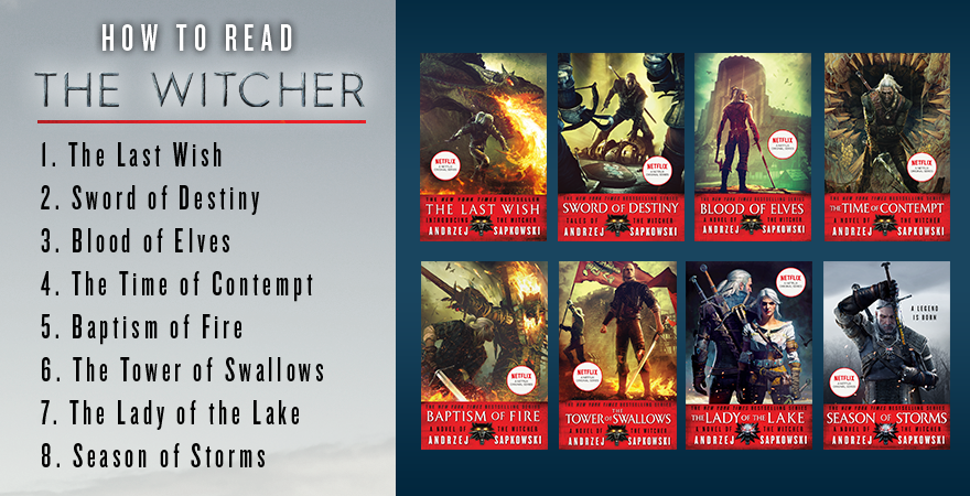 How To Read The Witcher By Andrzej Sapkowski What To Read After You Ve Watched The Witcher On Netflix Orbit Books