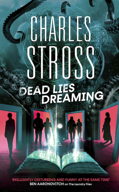 The cover for Dead Lies Dreaming