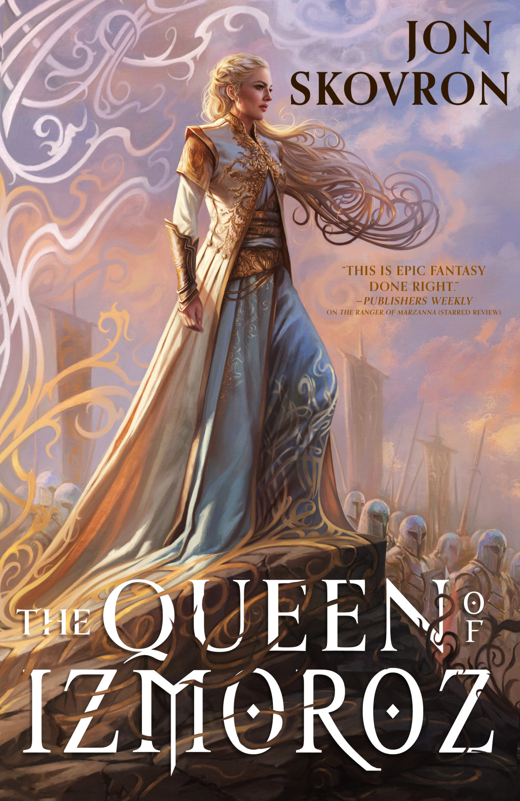 Cover Launch: THE QUEEN OF IZMOROZ by Jon Skovron