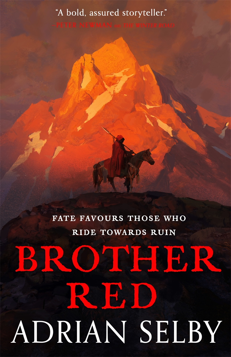 Cover des Romans Brother Red von Adrian Selby