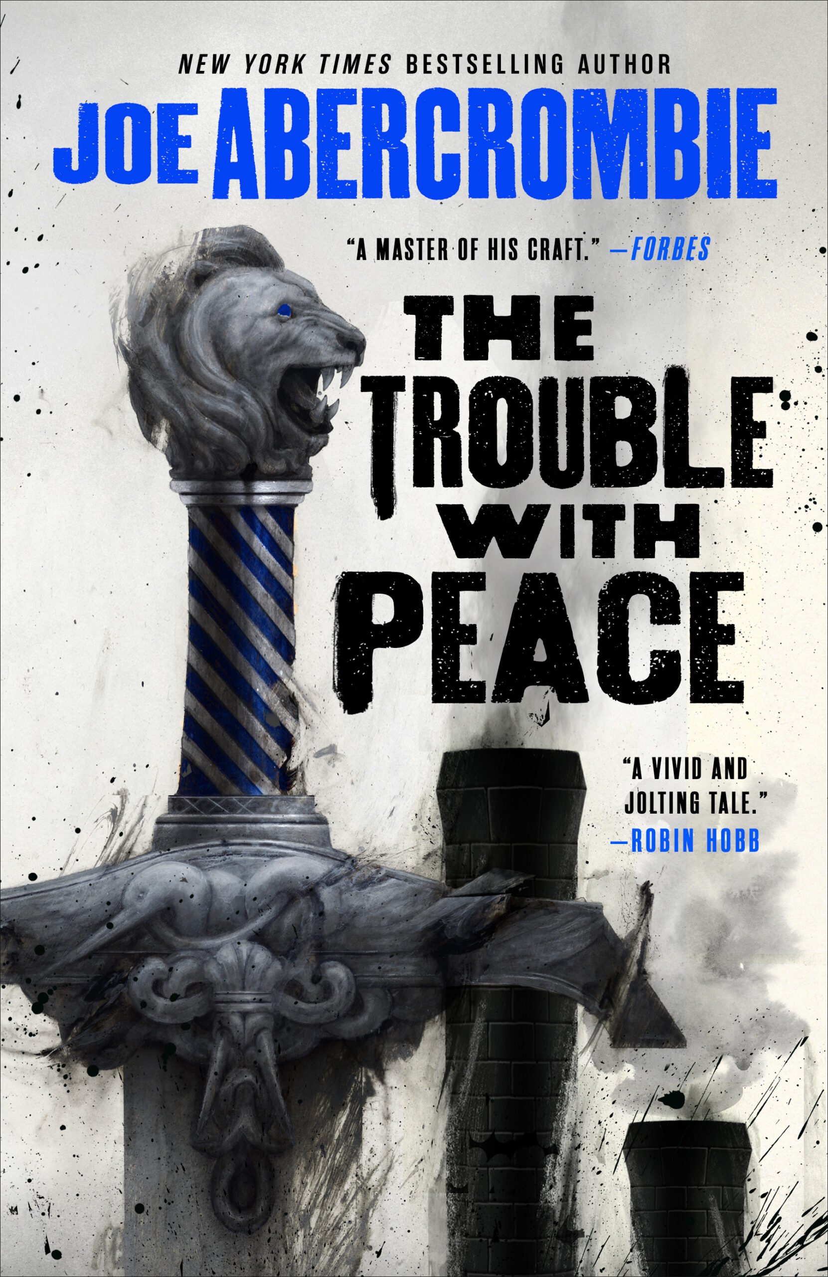Cover Launch: THE TROUBLE WITH PEACE Trade Paperback Edition by Joe Abercrombie