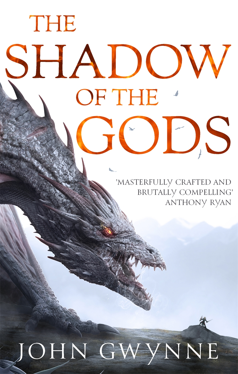 Cover Launch: THE SHADOW OF THE GODS by John Gwynne