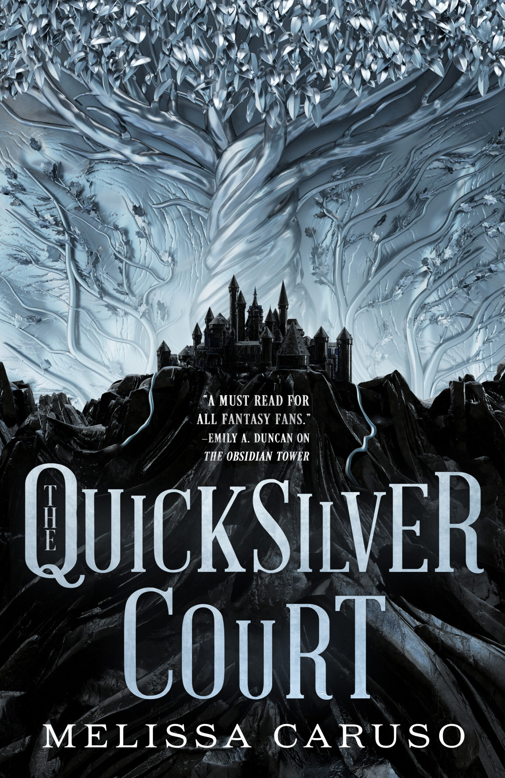 Cover Launch: THE QUICKSILVER COURT by Melissa Caruso