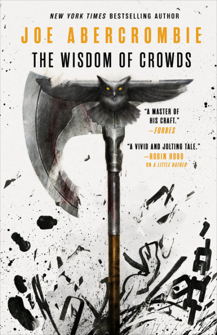 Cover Launch: THE WISDOM OF CROWDS by Joe Abercrombie